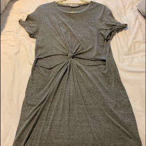 Francesca's Large T-shirt Dress